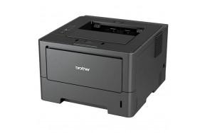Б/У Принтер Brother HL-5450DN лазерная печать (ч/б), А4 формат, cкорость печати 38 стр/мин, дуплекс, плотность бумаги 60-163 г/м2, 1200x1200 dpi, интерфейсы: Ethernet, USB, вес: 12.4 кг (HL5450DNR1) Grade B