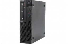 Б/У Системный блок Lenovo ThinkCentre M79/SFF/AMD A4-6300B/2 ядра/2 потока/ОЗУ 4GB DDR3/жесткий диск 320GB/1 х VGA, 1 x DP, 2 x USB 2.0, 2 x USB 3.0, 1 х LAN (RJ-45), 2 х PS/2, 3 x аудио входа/выхода, 1 x COM/привод есть/280 Watt/Win8/класс B