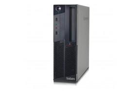 Б/У Системный блок Lenovo ThinkCentre M90/SFF/Intel Core i5-650/2 ядра/4 потока/ОЗУ отсутствует/жесткого диска нет/1 x VGA, 1 x DP, 6 x USB 2.0, 1 х LAN (RJ-45), 3 x аудио входа/выхода, 1 x COM/привод есть/240 Watt/Win7