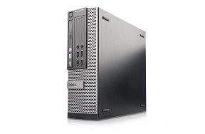 Б/У Системный блок Dell OptiPlex 9020/USFF/Intel Core i5-4690S/4 ядра/4 потока/ОЗУ 4GB DDR3/жесткого диска нет/1 x VGA, 2 x DP, 2 x USB 3.0, 4 x USB 2.0, 1 x LAN (RJ-45), 2 x аудио входа/выхода, 1 x COM/привод есть/класс B