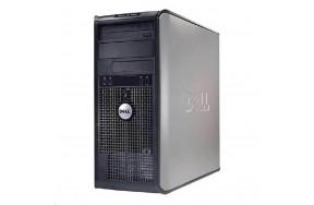 Б/У Системный блок Dell OptiPlex 745/Tower/Intel Dual Core/2 ядра/2 потока/ОЗУ 2GB DDR2/жесткого диска нет/1 x VGA, 6 x USB 2.0, 1 х LAN (RJ-45), 2 x аудио входа/выхода, 1 x COM, 1 x LPT/привод есть/305 Watt/noOS