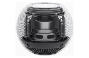 Смарт колонка Apple HomePod mini Space Gray (MY5G2) / беспровоное подключение / Wi-Fi / Bluetooth 5.0 / AirPlay 2 / сенсорная панель / управление голосом / питание от сети