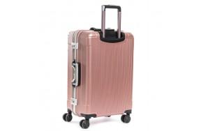 Комплект чемоданов PODIUM 2/1 ABS-пластик 04 розовый