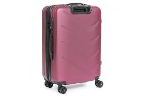Комплект чемоданов PODIUM 2/1 ABS-пластик 8340 бордовый