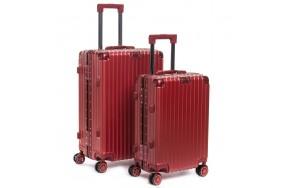 Комплект чемоданов PODIUM 2/1 ABS-пластик 06 красный