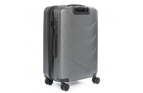 Комплект чемоданов PODIUM 2/1 ABS-пластик 8340 серый