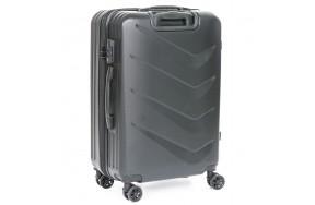 Комплект чемоданов PODIUM 2/1 ABS-пластик 8340 черный