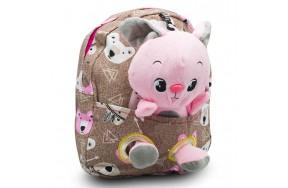 Детский дошкольный рюкзак  Cappuccino Toys CT7127.277 бежевый