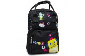Детский дошкольный рюкзак Cappuccino Toys CT7149.277 черный