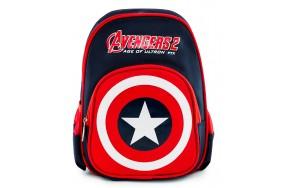 Рюкзак дошкольный для мальчика Aimina Капитан Америка темно-синий