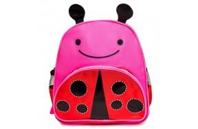 Детский дошкольный рюкзак Ladybag Cappuccino Toys для девочек красный