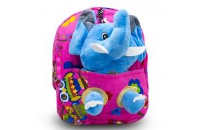 Детский дошкольный рюкзак  Cappuccino Toys CT2247.277-слоник-1 розовый