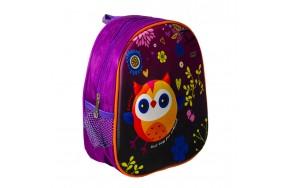 Рюкзак дошкольный для девочек Сова Cappuccino Toys CT8141.277 фиолетовый