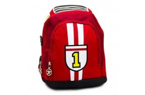 Рюкзак дошкольный для мальчиков Карс Машина Cappuccino Toys CT7198-R.277 красный