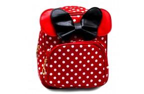 Рюкзак дошкольный для девочек Микки Маус Cappuccino Toys CT7166.277 красный