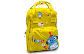 Детский дошкольный рюкзак Cappuccino Toys CT7149.277 желтый