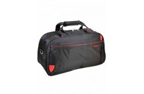 Дорожная сумка Catesiga нейлоновая, чёрная (22806-22 Big black-red)