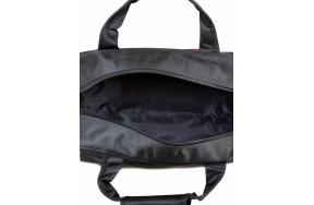 Дорожная сумка Catesiga нейлоновая, чёрная (22806-20 Medium black-red)