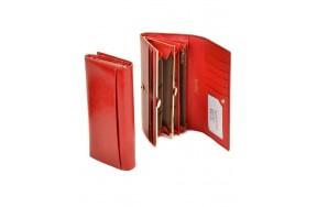 Кошелек  ALESSANDRO PAOLI W1-V  женский кожаный красный