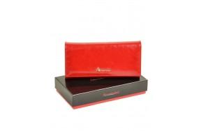Кошелек   ALESSANDRO PAOLI W501  женский кожаный красный