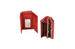 Кошелек   ALESSANDRO PAOLI W2155  женский кожаный красный