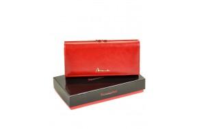 Кошелек  ALESSANDRO PAOLI W1  женский кожаный красный