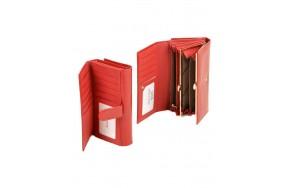 Кошелек  ALESSANDRO PAOLI W46 женский кожаный красный