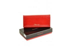 Кошелек   ALESSANDRO PAOLI W0807 женский кожаный красный