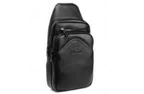 Рюкзак BRETTON BP 7936-42 на плечо мужской кожаный черный
