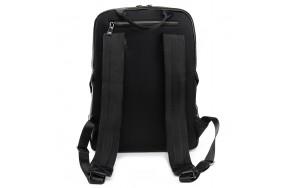 Рюкзак BRETTON BP 8003-67 мужской кожаный черный