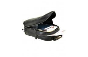 Рюкзак BRETTON BE 8003-73 мужской кожаный черный