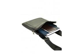 Сумка  BRETTON BE 3565-3 планшет мужская кожаная черная