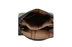 Сумка  BRETTON 506-1 планшет мужская кожаная черная