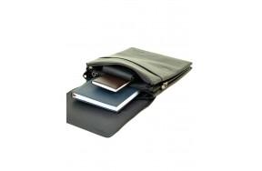 Сумка  BRETTON BE 5416-3 планшет мужская кожаная черная