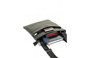 Сумка  BRETTON BE 72970-1 планшет мужская кожаная черная