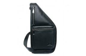 Рюкзак мужской кожаный BRETTON 1006-6 черный
