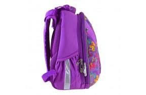 Рюкзак 1 Вересня Butterfly Dance H-28 школьный фиолетовый