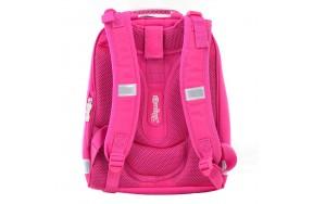 Рюкзак 1 Вересня Butterfly H-12  школьный розовый