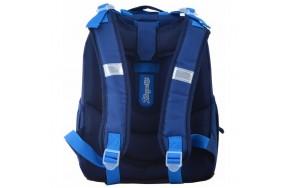 Рюкзак 1 Вересня Cars H-25 школьный синий