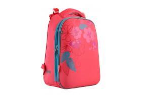 Рюкзак 1 Вересня Blossom H-12  школьный розовый