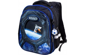 Рюкзак  Winner Stile 8071 школьный черный