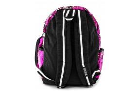 Рюкзак школьный Jasmine Star PINK розовый с пайетками-антистресс для девочек + пенал