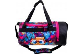 Спортивная сумка детская для девочки Delune L-01 СОВА
