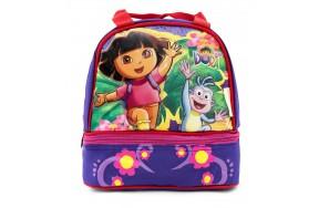 Ланч-бэг Hakancanta Dora 24132 термосумка для ланча двойная Даша-Путешественница Следопыт фиолетовый (Dora-24132)