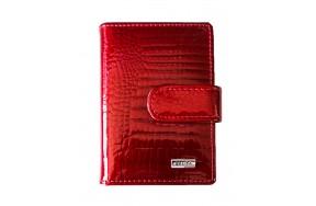 Визитница Balisa MNB831-42 женская кожаная красная