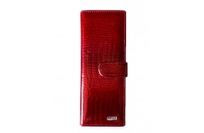 Визитница Balisa MNB832-42 женская кожаная красная