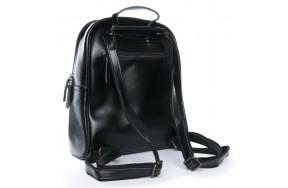 Рюкзак  ALEX RAI 08-2 8694-2 женский кожаный черный