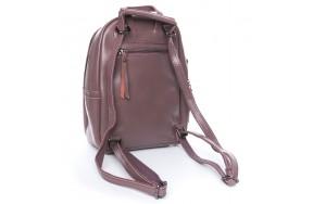 Рюкзак  ALEX RAI 08-2 337 женский кожаный розовый
