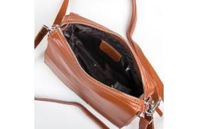 Сумка  женская кожаная ALEX RAI 9-01 2227 коричневая