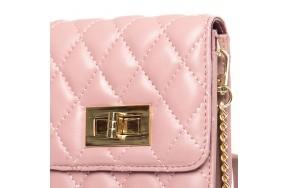 Сумка ALEX RAI 03-1 1038 женская кожаная розовая
